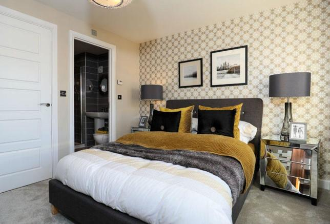 Rochester master bedroom