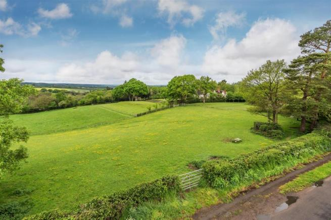 house. estate agents Peaslake country view