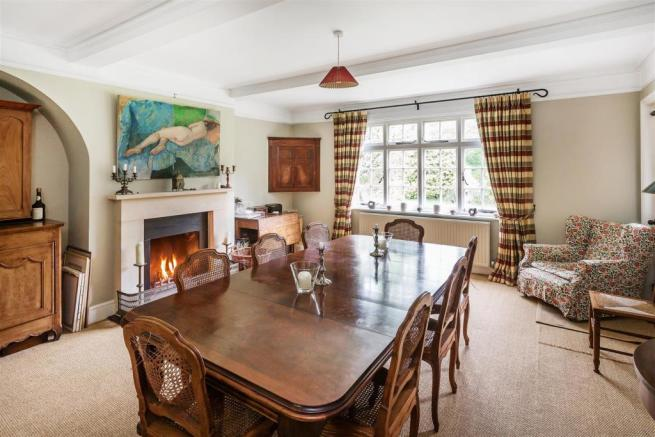house. estate agents Peaslake dining room
