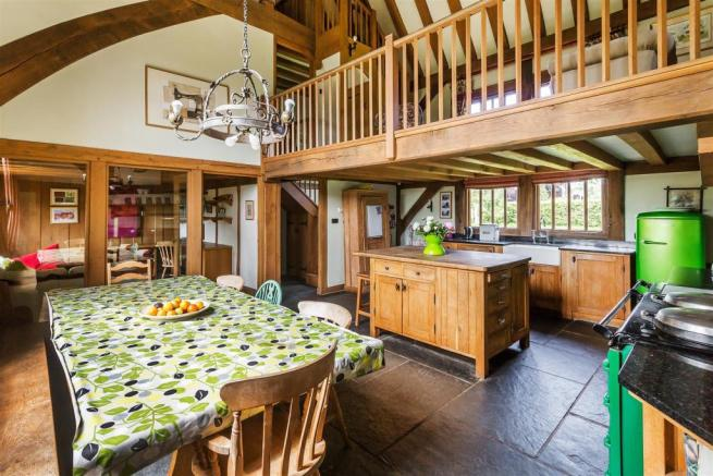 house. estate agency Alfold kitchen / dining room