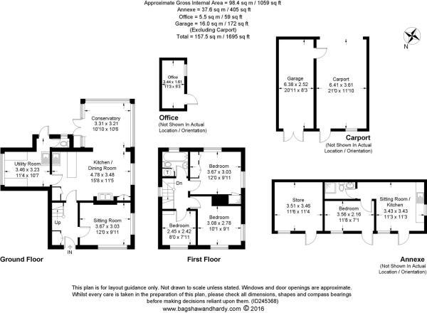 house. estate agents Hurlands Cottage