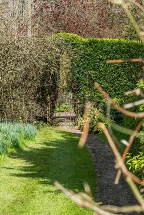 house. estate agents Dunsfold Garden Path