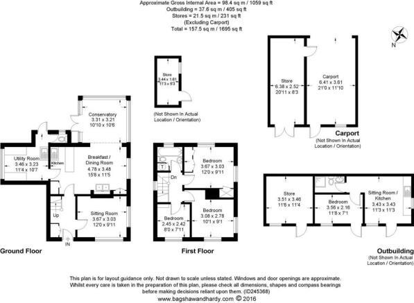 house. estate agents Dunsfold Floor Plans