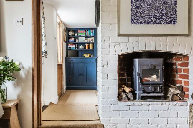 house. estate agency Milford woodburner