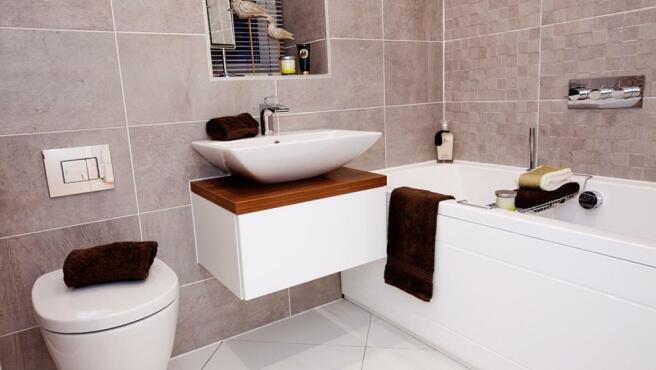 Avant designer bathroom