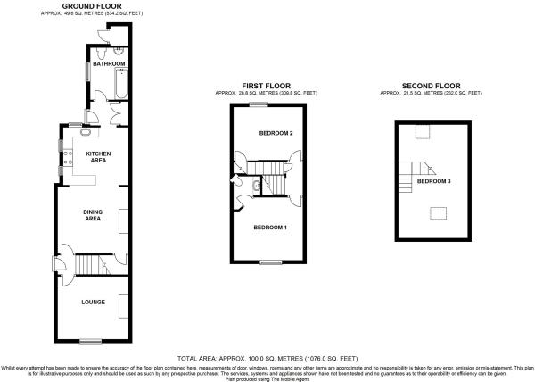 12 Camp View Winterbourne BS36 1BW - all floors