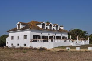 Side angle of villa