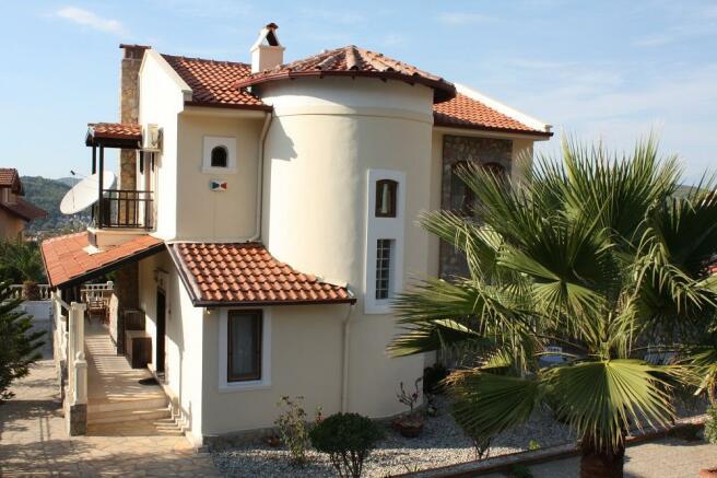 Side of Ovacik Villa