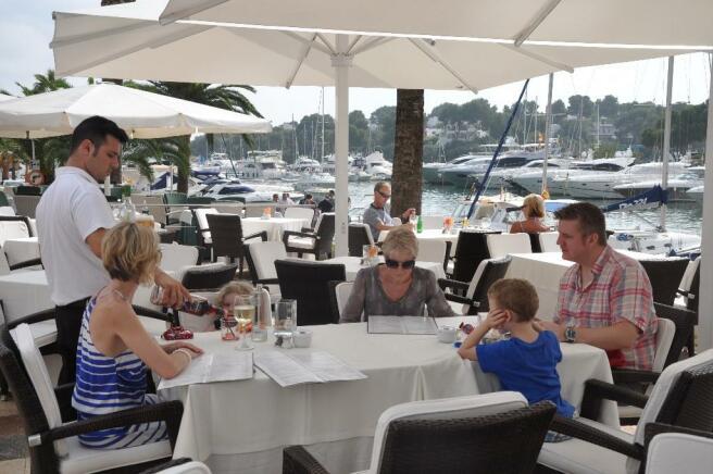 Dining at Marina
