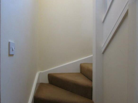 stairs to main door