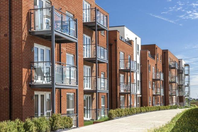 Castle Hill Apartments, Ebbsfleet Valley