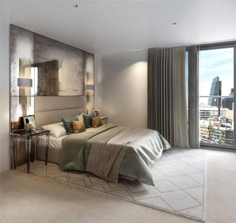 Bedroom Cool Scheme