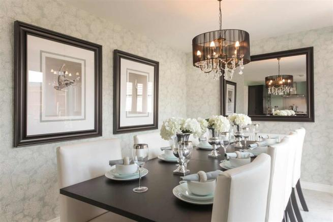An example of a typical Taylor Wimpey show home