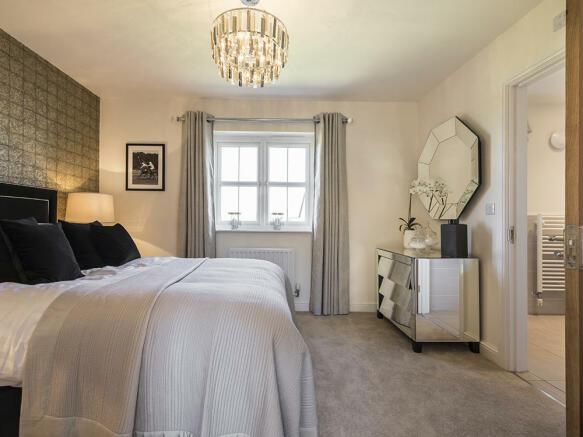 Superb double bedroom with en-suite