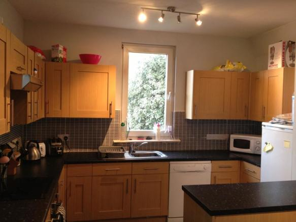 Plymouth Student House Kitchen