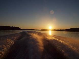 boating on Ponhook 2