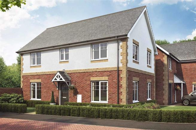 Langton Green New Homes Development By Taylor Wimpey