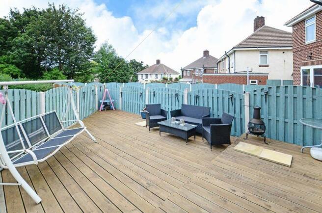 Decked Terrace...