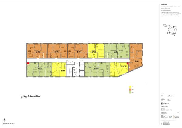 7th Floor Floorplan