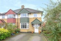 3 bedroom semi detached property in Southbourne Gardens...