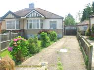 Semi-Detached Bungalow in Gordon Gardens, Edgware...