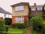 semi detached house in Whitchurch Gardens...