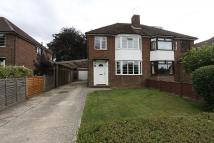 semi detached house in Old Worting Road...