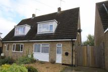 3 bedroom semi detached home in Manor Drive, Sawtry...