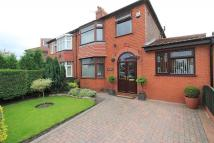 4 bed semi detached property in Mansfield Close, Denton...