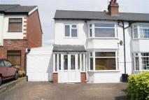 semi detached home in Balden Road, Harborne