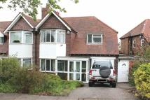 3 bedroom semi detached property for sale in Gillhurst Road, Harborne