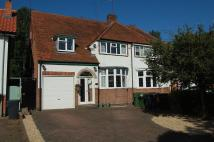 4 bed semi detached property in Birmingham Road...