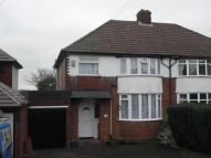 Rowton Drive semi detached house for sale