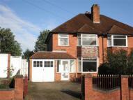 Antrobus Road semi detached house for sale