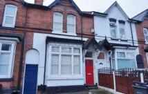 Terraced home in Wood End Road, Erdington...