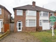3 bedroom semi detached house in Plantsbrook Road...
