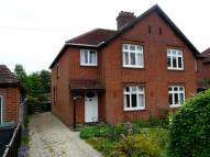 3 bedroom semi detached home to rent in Priory Road, Hungerford...