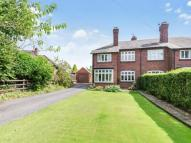 3 bed semi detached house for sale in Cross Lane, Congleton...