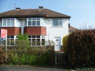3 bedroom semi detached house to rent in Springfield Road, Gatley...