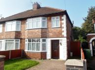 semi detached property in Bridle Road, Bromborough