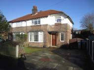 3 bed semi detached home in Cholmondeley Avenue...