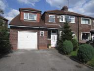 semi detached property for sale in Fox Close, Timperley...