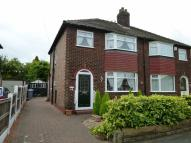 3 bed semi detached home for sale in Vale Road, Timperley...
