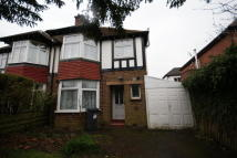 3 bedroom semi detached house in Marshall Lake Road...