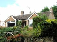 Bungalow in Woolley Road, Matlock...
