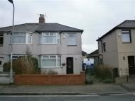 3 bedroom semi detached property in Hathaway Street, Newport...