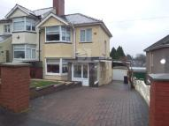 Cae Perllan Road semi detached house for sale