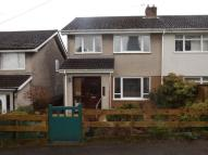 3 bed semi detached home in Hollybush Walk, Bassaleg...