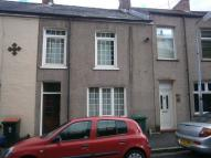 Terraced house in Power Street, Newport...