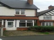 3 bedroom semi detached property in Birmingham Road...